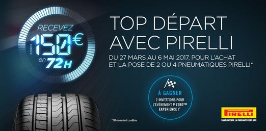 Top départ avec Pirelli