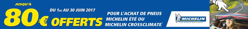 Vivez des kilomètres de belles histoires en plus avec Michelin