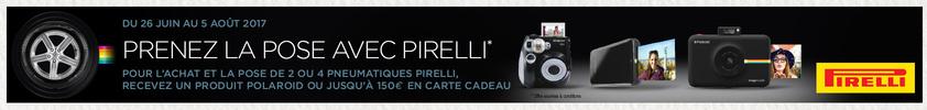 Prenez la pose avec Pirelli !