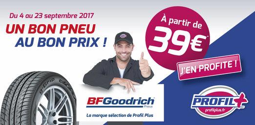 BFGoodrich le bon pneu au bon prix !